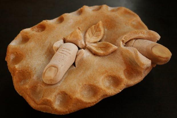 Salt Dough Sweeney Todd Pie