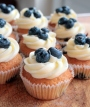 Blueberry & Lime Cupcakes