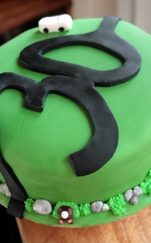 30th Austin Healey Sprite Cake