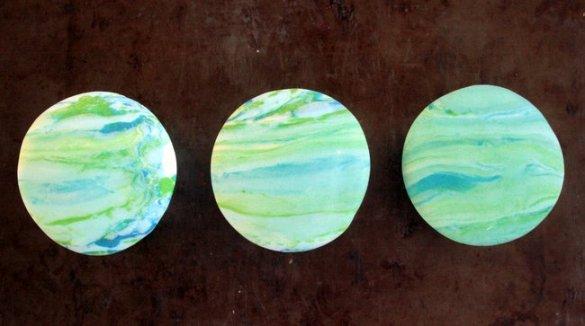 planetary cupcakes