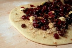nriched dough with berries