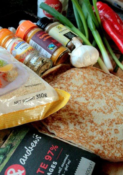 crispy pancake ingredients