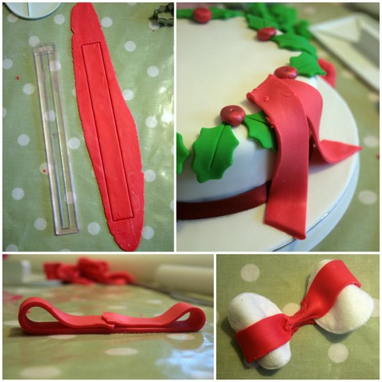 How to make a sugarpaste bow