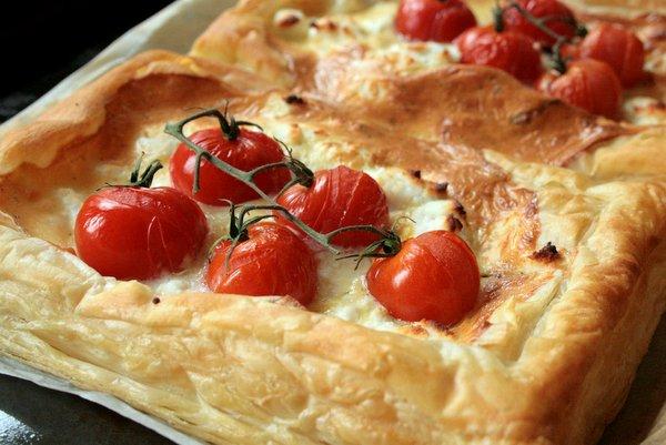 cheese and tomato tart >> Butcher Baker