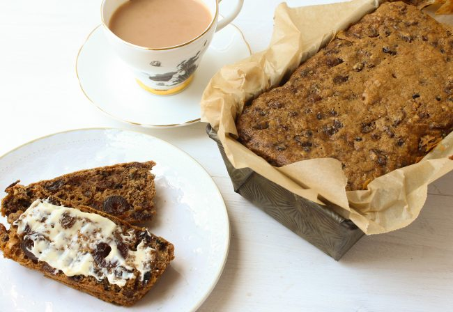 easy storecupboard tea cake loaf