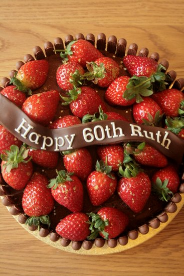 chocolate finger birthday cake