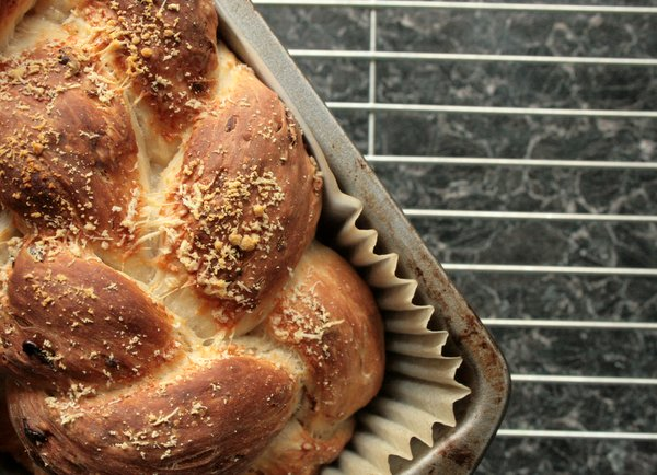 parmesan and onion knot loaf
